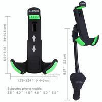 Car Cellphone Mount Holder with 3 USB Port Cigarette Lighter Socket Charger New