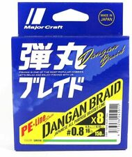 Tresse Major Craft Dangan Braid X8 Vert - 150M