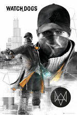 Watch Dogs City Aiden Pearce Maxi Poster 61x91.5cm FP3049 WATCH_DOGS