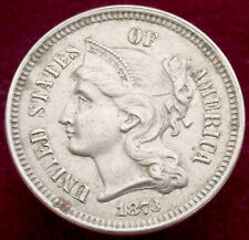 More details for united states nickel 3 cents 1873 (h2804)