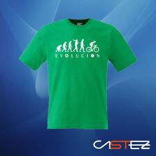 Camiseta evolucion cilclista bicicleta bike hipster fixie regalo  ENVIO 24/48h