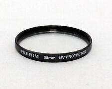 Fujifilm Fuji 58mm UV Protector Filter Black NEW Film Digital DSLR SLR 908290