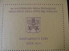 KMS Vatikan von 2009 im Original-Blister,8 Werte Qualität Stempelglanz