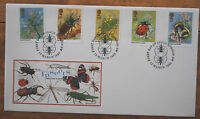 March 1985; Insects Philart First Day Cover; Excellent postmark
