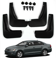New Splash Guards Mud Flaps 5C6075111/101 FOR VW 11-14 JETTA MK6 VI A6 TDI Sedan