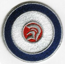 Iron On/ Sew On Embroidered Patch Badge MOD Trojan Target Circle Roundal RAF