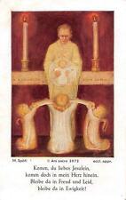 "OLD nice rare german Holy cards from circa 19th Spötl ""H9316"""