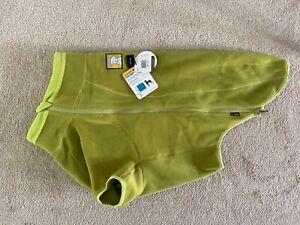 Ruffwear Climate Changer Dog Puppy Coat Large Polartec Fleece L Green