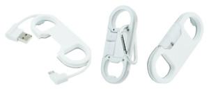 Cable USB Llavero Abrebotellas Blanco ~ Conexión Universel Micro USB