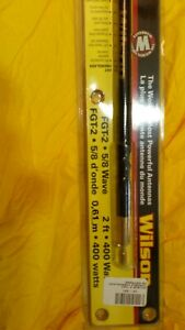 CB WILSON ANTENNA FGT 2 5/8 WAVE 27 mhz FIBER- GLASS 2FT UP TO 400W BLACK