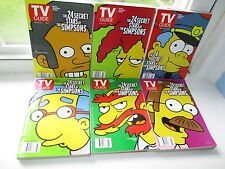 """12 TV Guides October 21st - 27th 2000 """"THE SIMPSONS"""""""