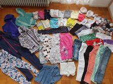 47 Teile Mädchen Paket Gr. 134/140 Pulli Shirt Schlafi Jacke Hose H&M C&A Adidas