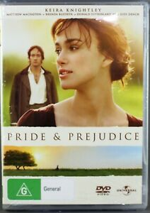 """PRIDE & PREJUDICE (DVD, 2006) BRAND NEW / SEALED """"REGION 4"""""""