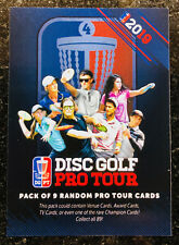 2019 Disc Golf Pro Tour DGPT trading cards - You Pick