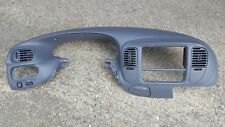 97-03 Ford F150 Expedition Upper Dash Pad Cover Radio Cluster Trim Bezel Gray