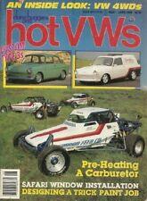 DUNE BUGGIES & HOT VW'S 1986 JUNE - VW 4-WHEEL DRIVE, DISC BRAKE UPGRADES