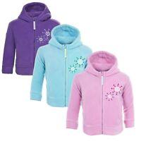Trespass Shakira Baby Warm Winter Jacket with Hoodie Outerwear Pink Girls Coat