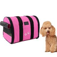 Foldable Portable Carry Handbag  Pet Carrier Bag Travel Cage  Dog Cat Rabbit