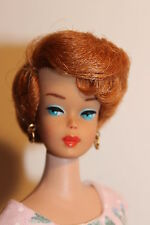 European Vintage Barbie Bubble Cut Genuine Side Part