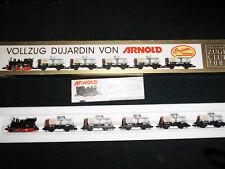 Arnold N - 0220 - Vollzug Duyardin Club 2000 - OVP - Tenderlok and 5 Wagen