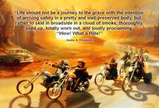 EASY RIDER Movie Poster Hells Angels Biker Dennis Hopper Quotes Multi Sizes