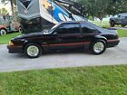 1988 Ford Mustang GT 1988 Ford Mustang Hatchback Black RWD Automatic GT
