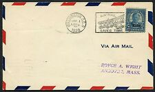 #674 ON A.C. ROESSLER FIRST DAY COVER TO ANDOVER, MASS. 1929 BT3813
