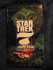 Star Trek 7 by James Blish (1972, Paperback) seven. A Bantam Book SHIPS 1ST CLAS
