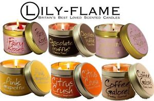 Lily Flame Tin Candle - Select Your Fragrance Free Post
