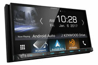 """Kenwood DDX9704S Carplay and Android DVD 7"""" Touch Screen, Bluetooth HD Radio GPS"""