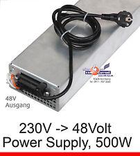 AC DC ADAPTER POWER SUPPLY NETZTEIL 48V 48 VOLT 500WATT