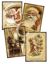 Vintage Image Victorian Christmas Labels Waterslide Decals Chr216 You Pic