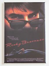 Risky Business FRIDGE MAGNET (2.5 x 3.5 inches) movie poster tom cruise