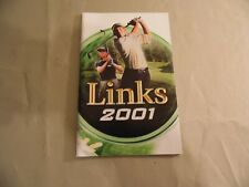Links 2001 (PC Instruction Manual) Free Domestic Shipping