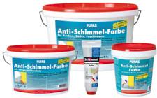 Pufas Anti Schimmel Farbe Schimmelschutz Ausbesserungsfarbe Wandfarbe Innenfarbe