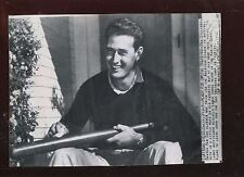 Original Feb 10 1946 Ted Williams Ready For Spring Training 7 X 10 Wire Photo