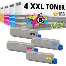 4 XXL TONER Patrone für OKI Data C5600 C5600N C5600DN C5700 C5700N C5700DN Set
