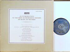 ARCHIV STEREO ED1 History Sampler Vivaldi Handel Bach Telemann RICHTER 104 252