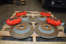 2009-2014 DODGE CHALLENGER SRT-8 BREMBO BRAKES SET CALIPERS ROTORS 19K MILES OEM