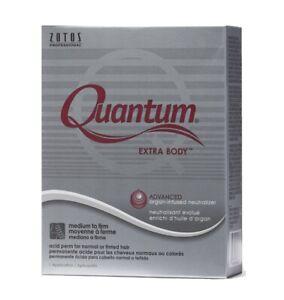 Zotos Quantum Extra Body Acid perm for normal or tinted Hair, 1-app Salon Grade