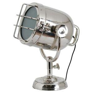 Industrial Nickel Spotlight Table Lamp | Individual Stylish Lighting