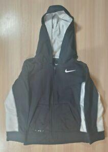Nike Boys Toddler Therma Fit Zip Up Hoodie Jacket Size 5T Black