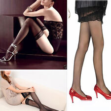 Mujer Muslo Medias Calcetines Pantis Pantys Leggings Pantyhose Ligueros Chica