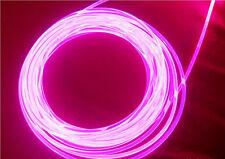 flexible Flexi dotted Side glowing light fiber optic cable 2.2mm diameter