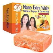 6 pcs. Papaya Carrot Soap Nano Extra White Natural Glutathione 160G  DHL Express