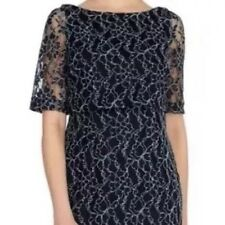 BNWT💖Coast💖Size 6 Navy Blue Mia Lace Dress Wedding Cruise Races Cocktail New