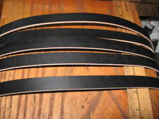 "6-7 Oz Black English Bridle Leather Belt Blank 58'-60"" 3/4 in"