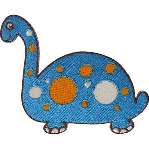 Dinosaur Patch Iron Sew On Clothes Shirt Bag Jacket Cap Jeans Embroidered Badge