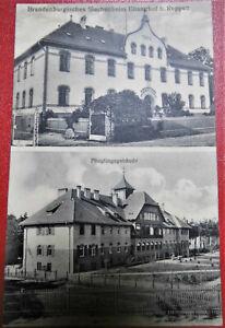 AK Brandenburgisches Siechenheim Eilanghof bei Reppen Feldpost 1915 -TOP!!!