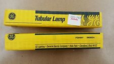 GE Refrigerator Tubular Lamp Frosted Light Bulb - Lot of 2 - FG648Y - 3806504
